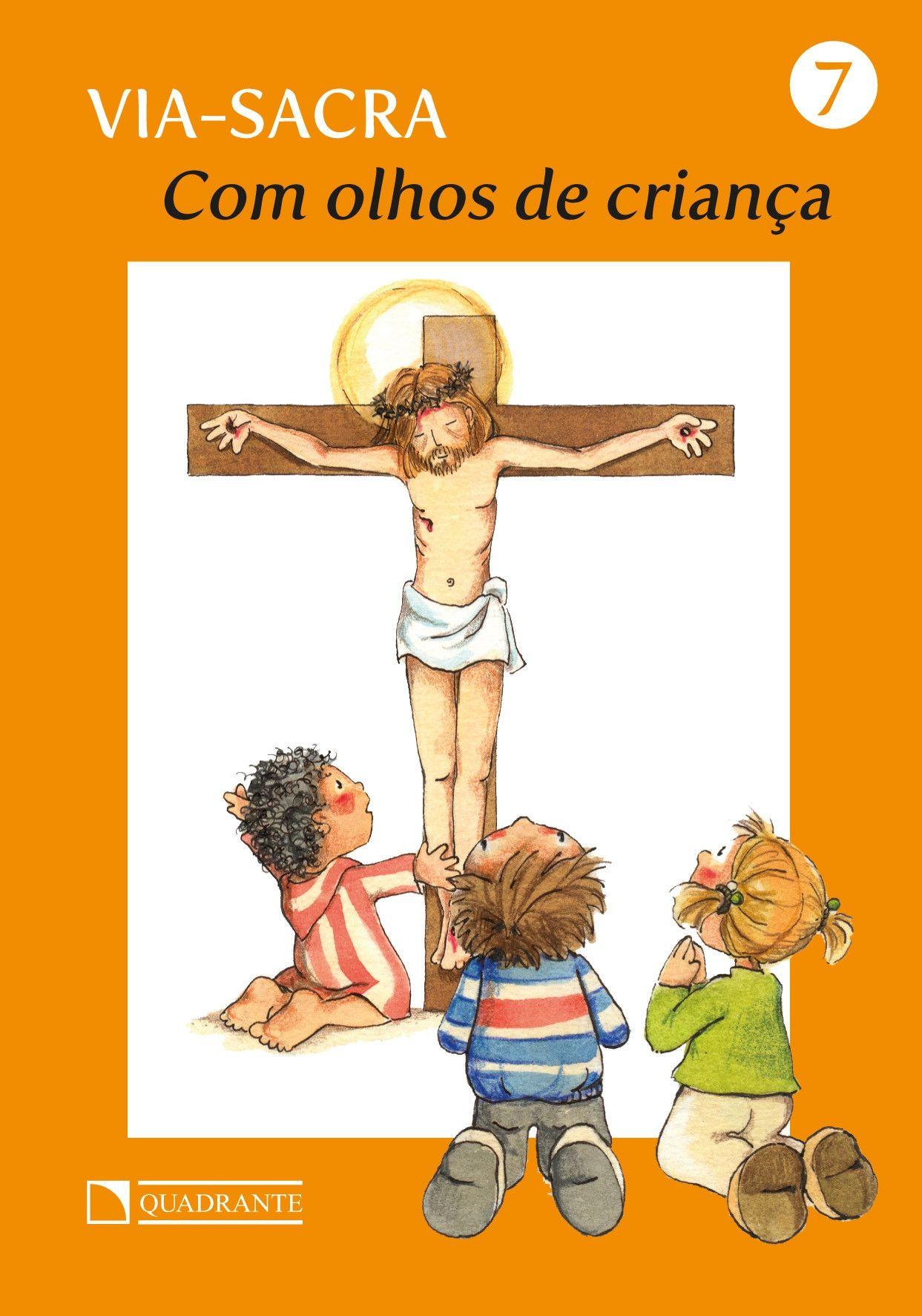 Livro Com olhos de criança - Via-Sacra - 7