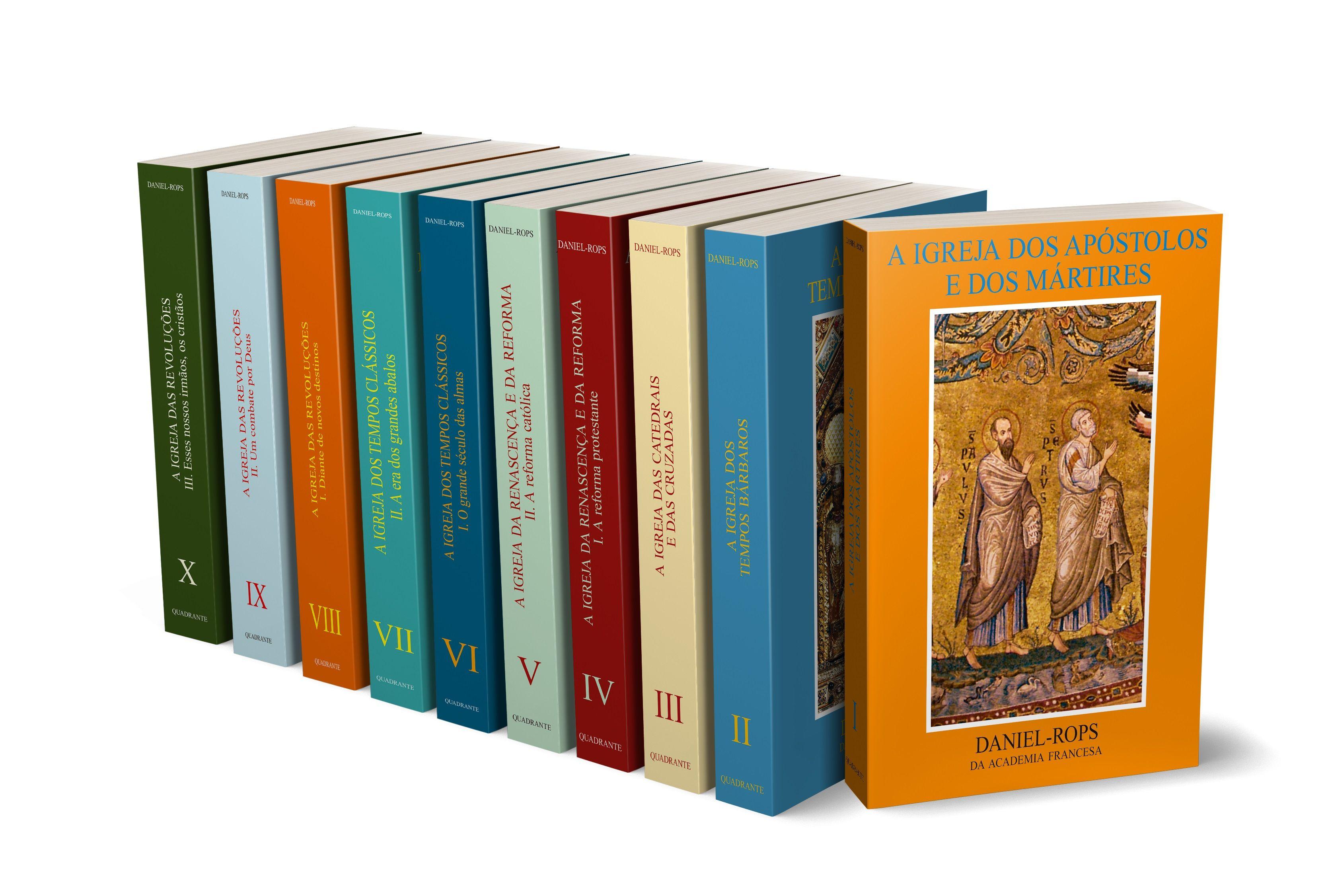 História da Igreja de Cristo - Coleção completa - 10 volumes