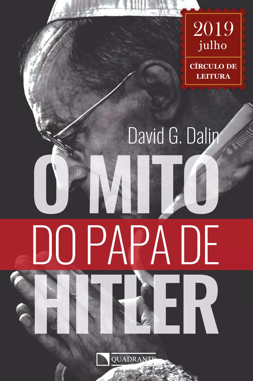 Livro O Mito do Papa de Hitler