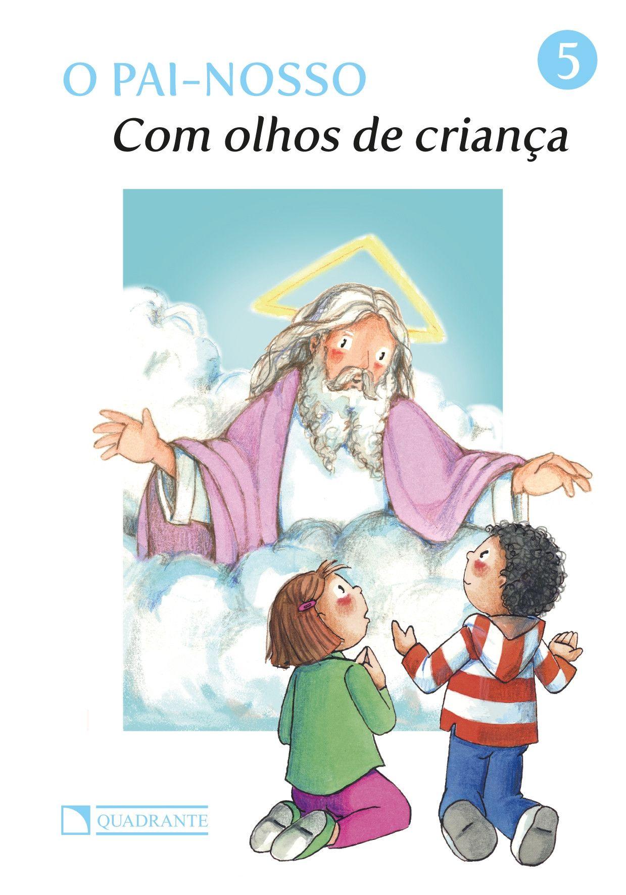 Livro Com olhos de criança - O Pai-Nosso
