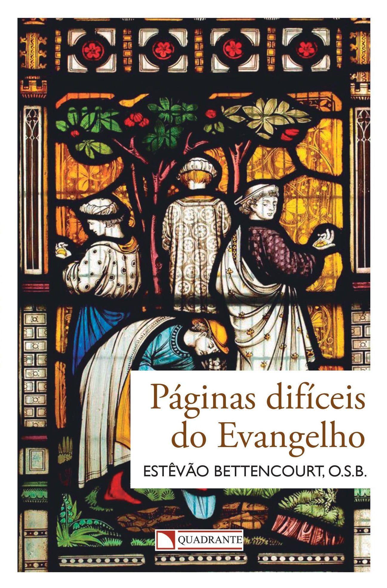 Livro Páginas difíceis do evangelho