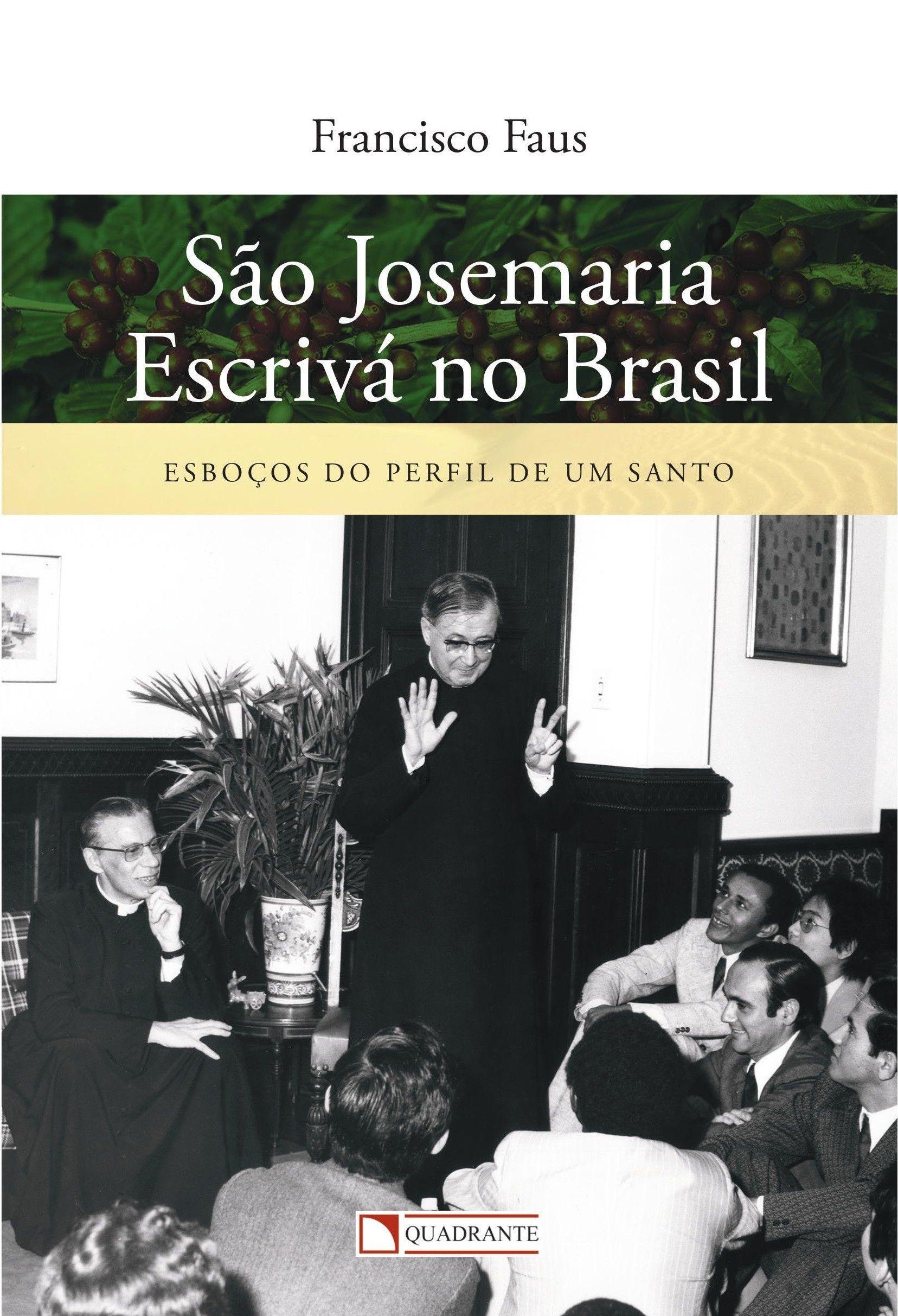 Livro São Josemaria Escrivá no brasil
