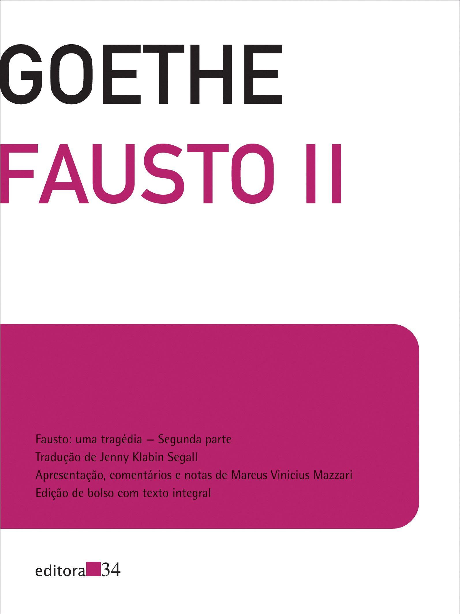 Fausto II - Edição de bolso