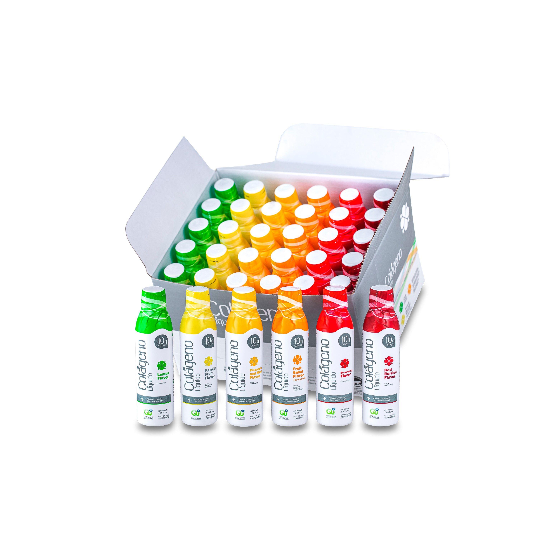 Colágeno Líquido (kit mensal - caixa com 30 frascos)