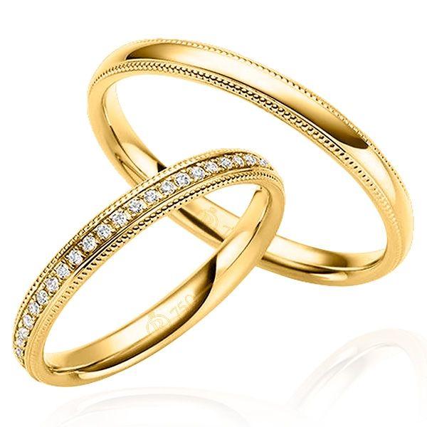 imagem do produto Alianças de Ouro Casamento ou Noivado dos Sonhos Cód 240