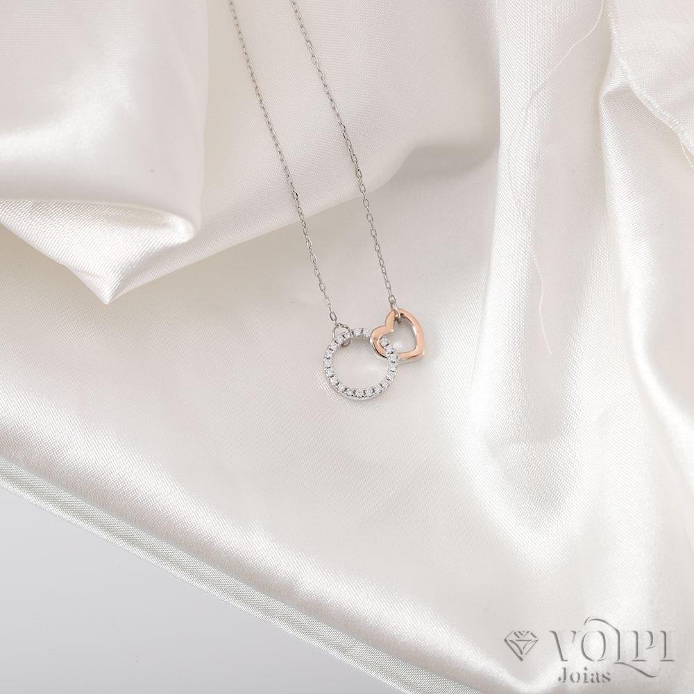 imagem do produto Pingente coração em prata 925
