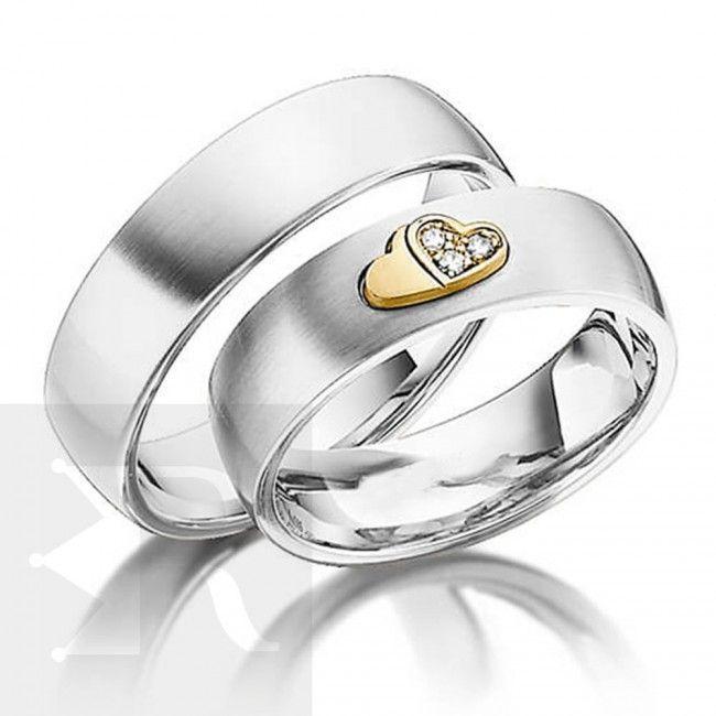 imagem do produto Alianças de Namoro com Coração cod. 6207