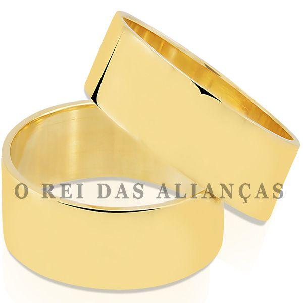 imagem do produto Alianças Retas de Noivado Ou Casamento Cód. 109