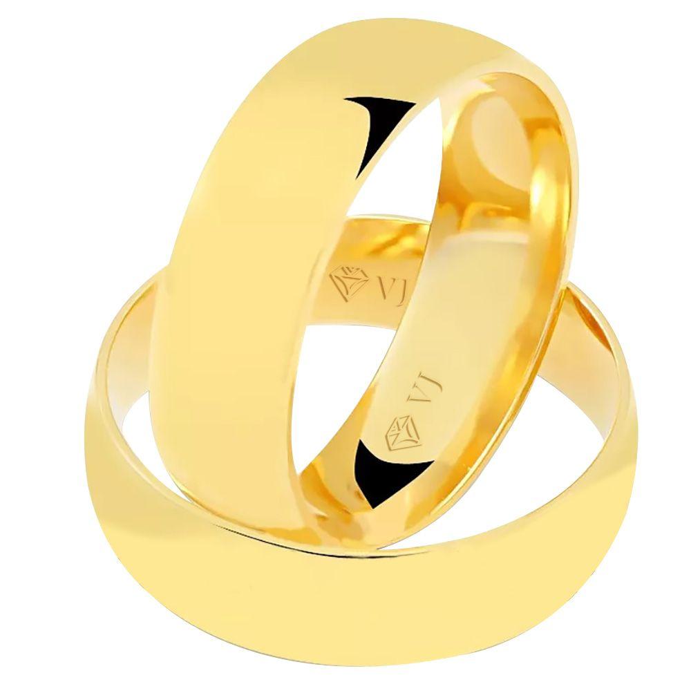 imagem do produto Alianças Tradicional Noivado ou Casamento Cód. 231