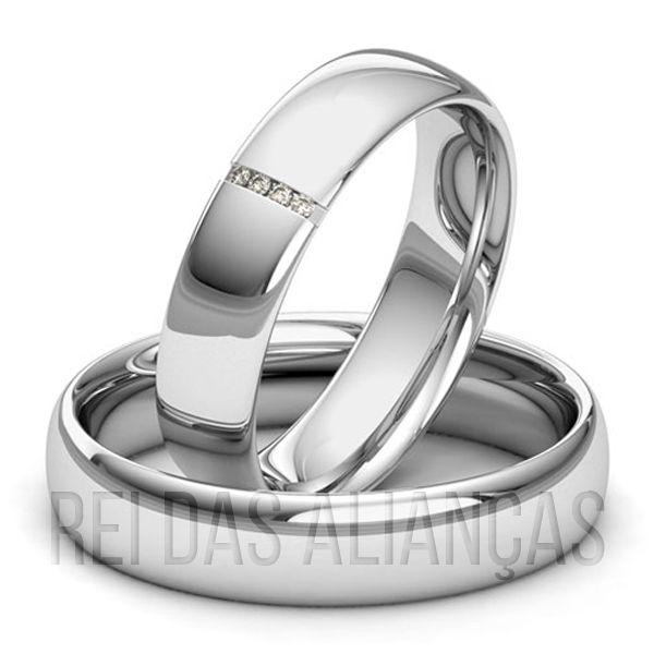 imagem do produto Alianças de Ouro Noivado ou Casamento Cód. 208