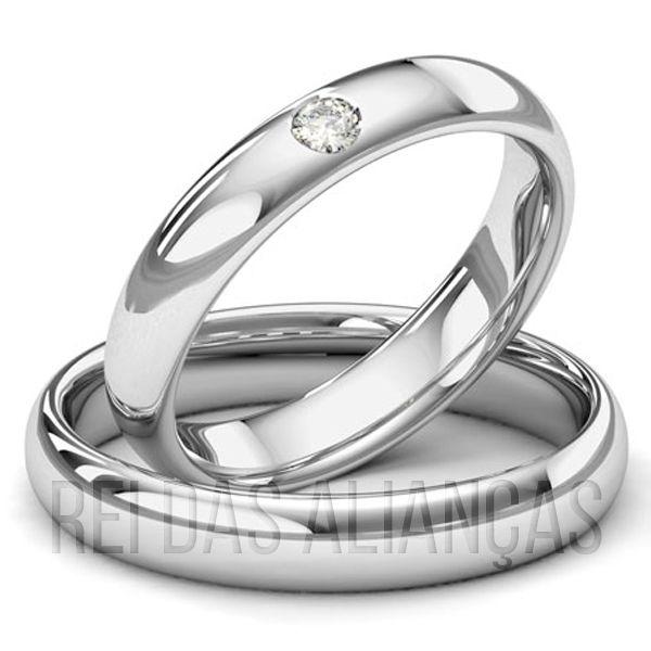 imagem do produto Alianças de Ouro Noivado ou Casamento Cód. 207