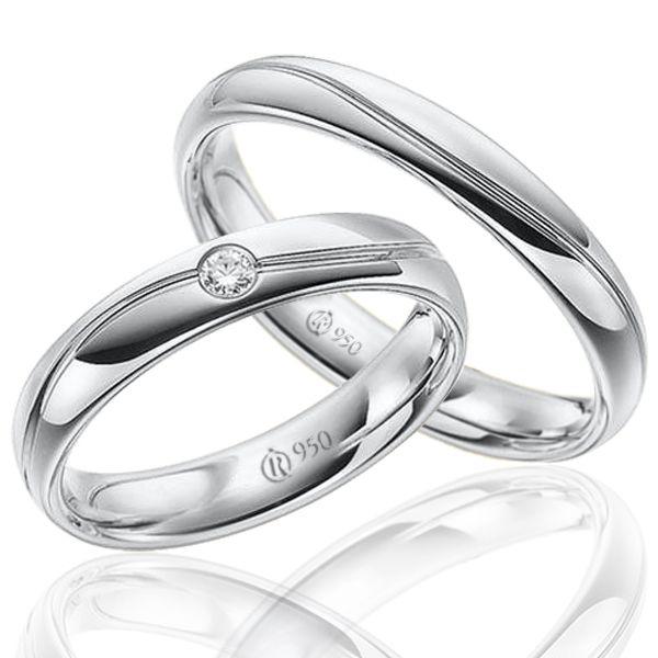 imagem do produto Alianças de Prata Luxo Total Cód. 8703