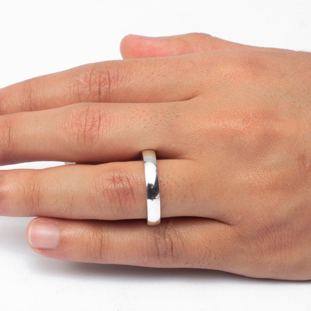 imagem do produto Aliança Trançada de Prata com Pedras Cód: 8688