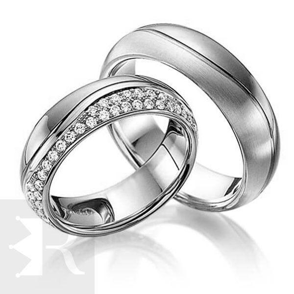 imagem do produto Alianças de compromisso prata Cód. 8677