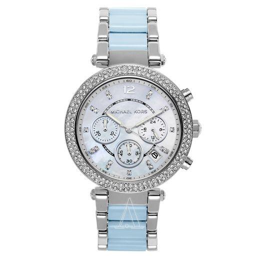 imagem do produto [preço de custo] relógio michael kors parker com swarovski mk6138