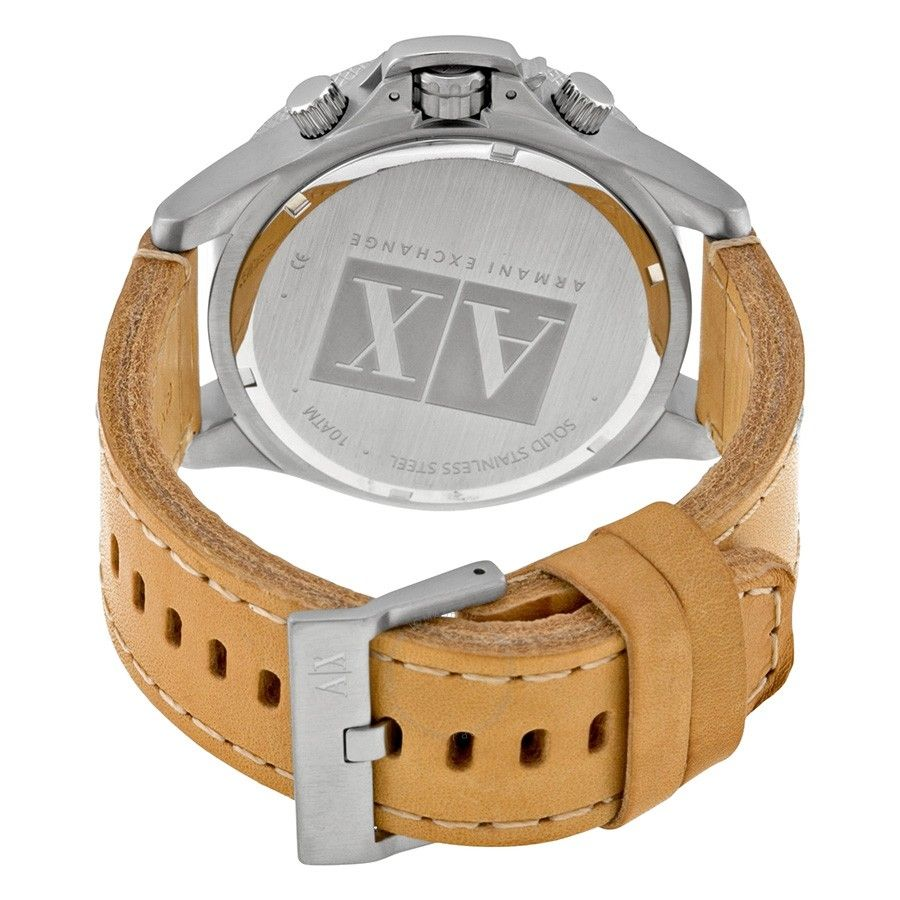 imagem do produto Relógio Armani Exchange Prata e couro ax1516
