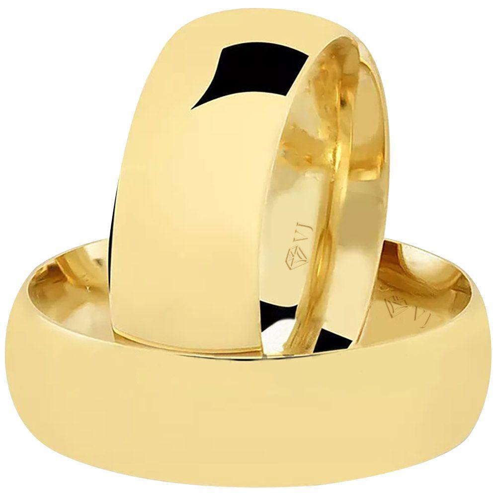 imagem do produto Alianças de Ouro Noivado ou Casamento Cód 044