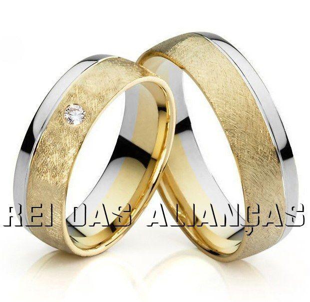 imagem do produto Alianças de Ouro Leblon Luxo ao Extremo Cód. 351