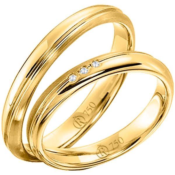 imagem do produto Alianças Casamento ou Noivado Cód. 603