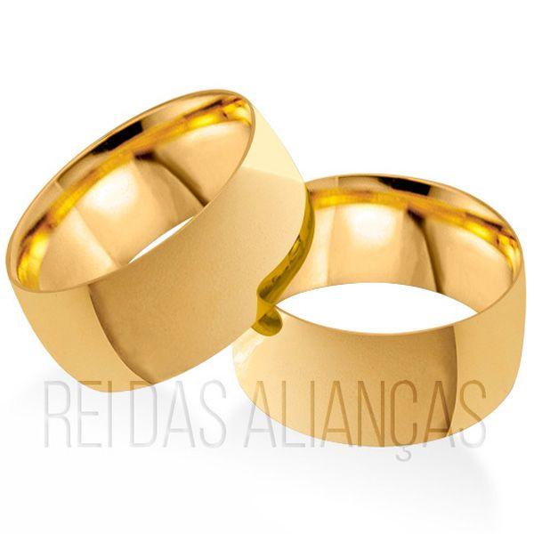imagem do produto Alianças Largas para Casamento 8,5mm de Largura