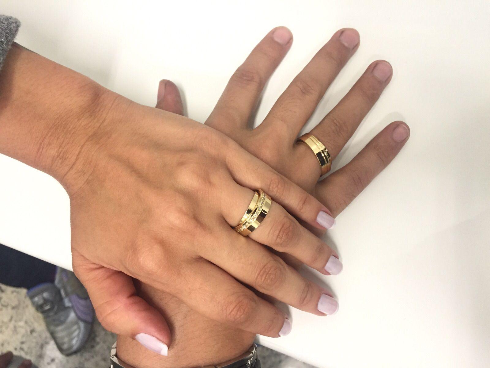 imagem do produto Aliança de Casamento Exclusiva Sweet Tie