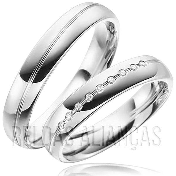 imagem do produto Alianças de Compromisso, Namoro ou Casamento Cód. 8731