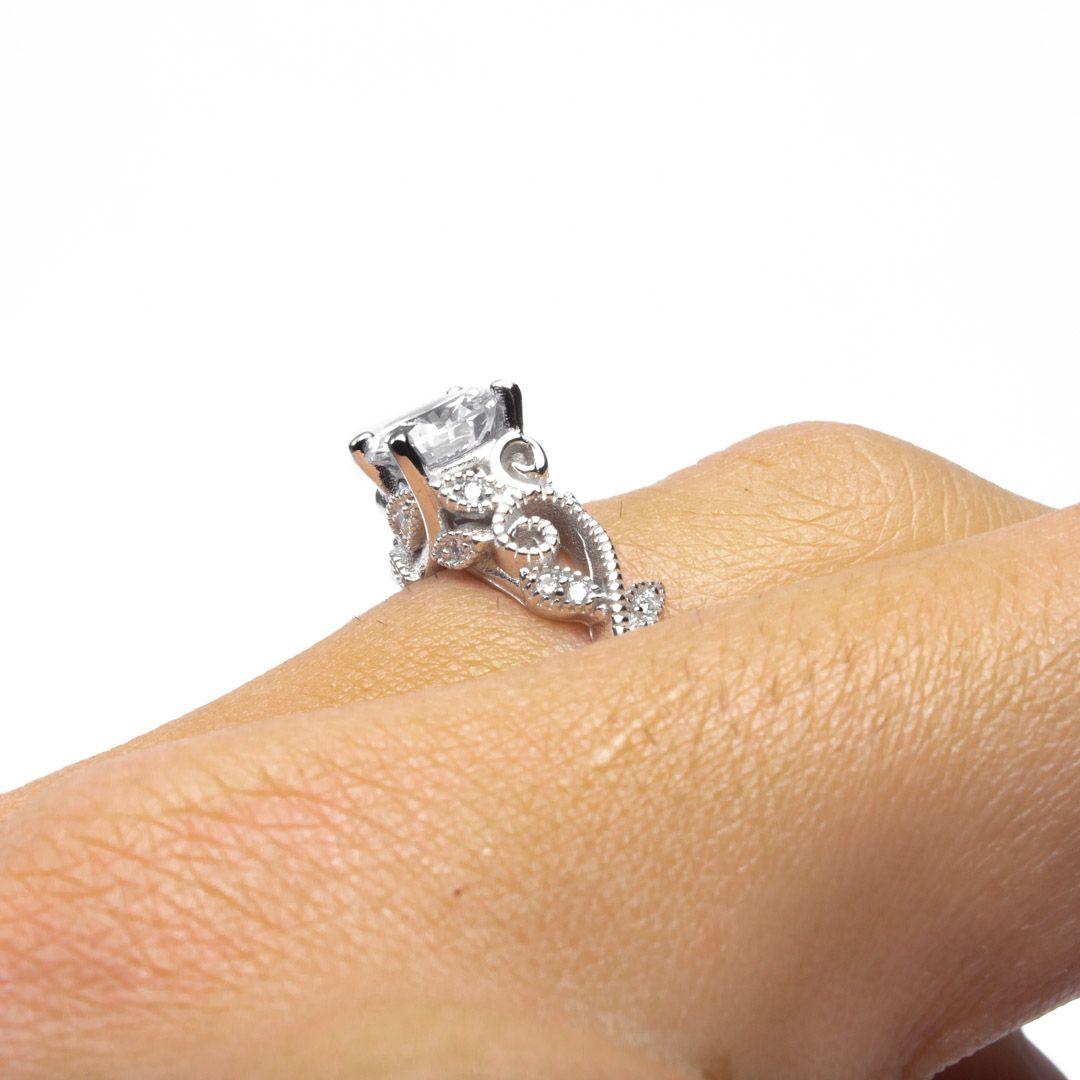 imagem do produto Anel de Princesa em Prata de Lei