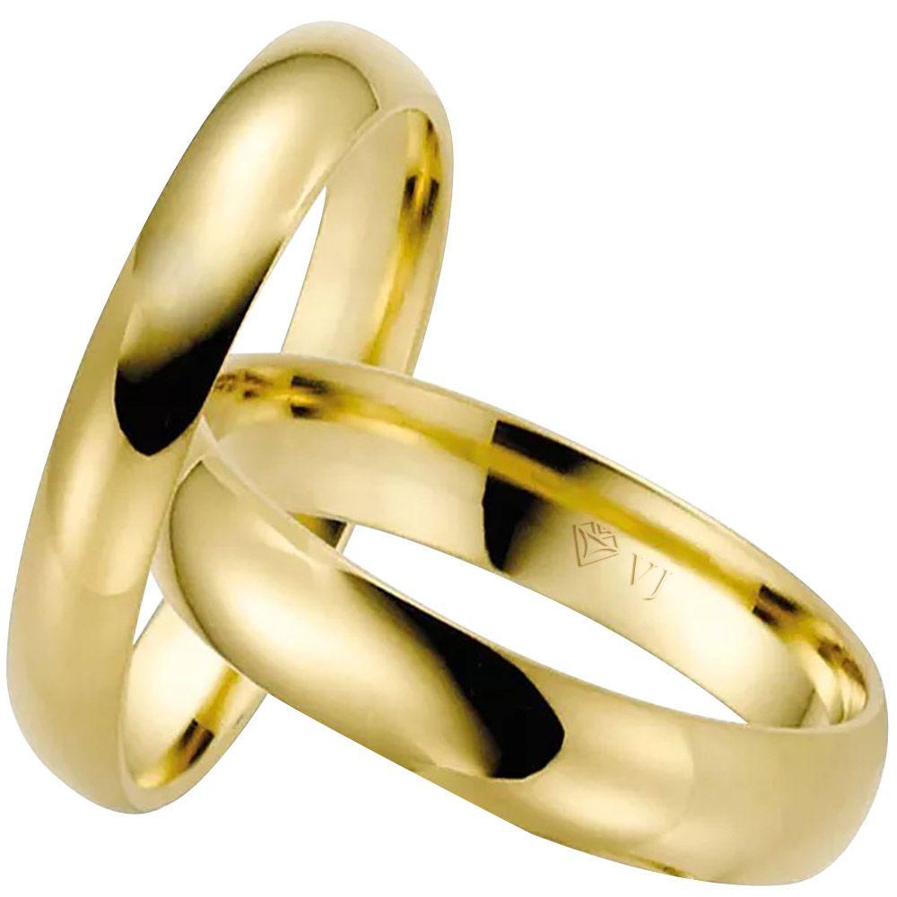 imagem do produto Alianças de Ouro 10k para noivado ou casamento Cód. 684