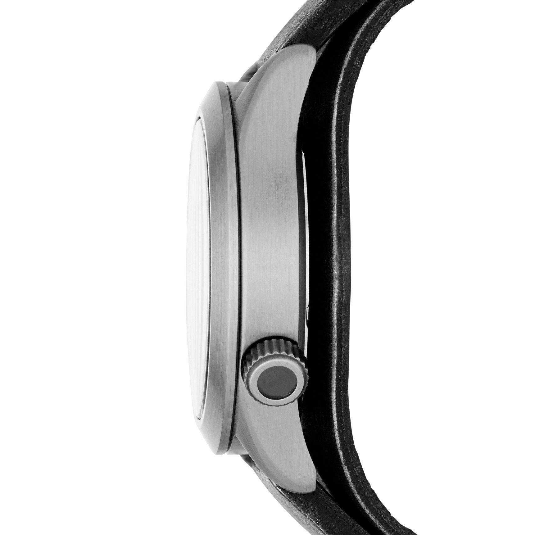 imagem do produto Relógio Fossil Pulseira Couro Genuíno Preto - Modelo: AM4552/0CN