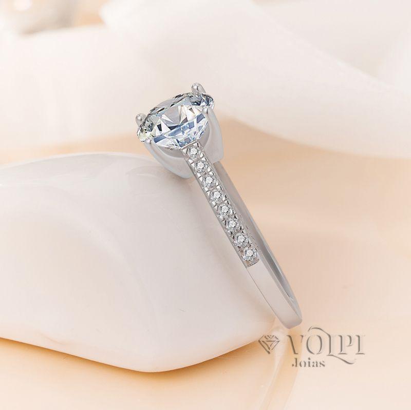 imagem do produto Anel de Prata Poderoso Luxuoso Cód. 816