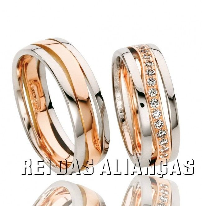 imagem do produto Alianças para Casamento ou Noivado Exclusivas Cód. 361