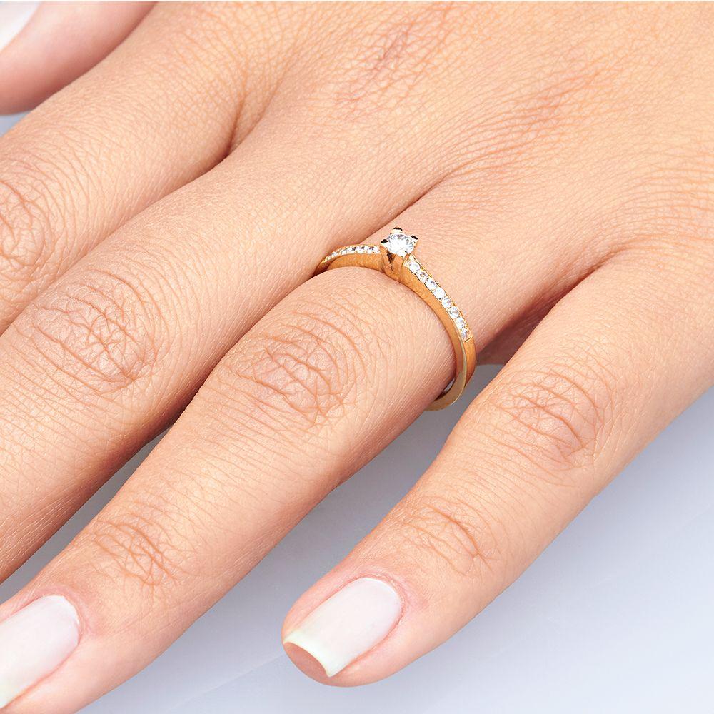 imagem do produto Anel de Namoro | Noivado | Casamento Guarujá Cód. 820