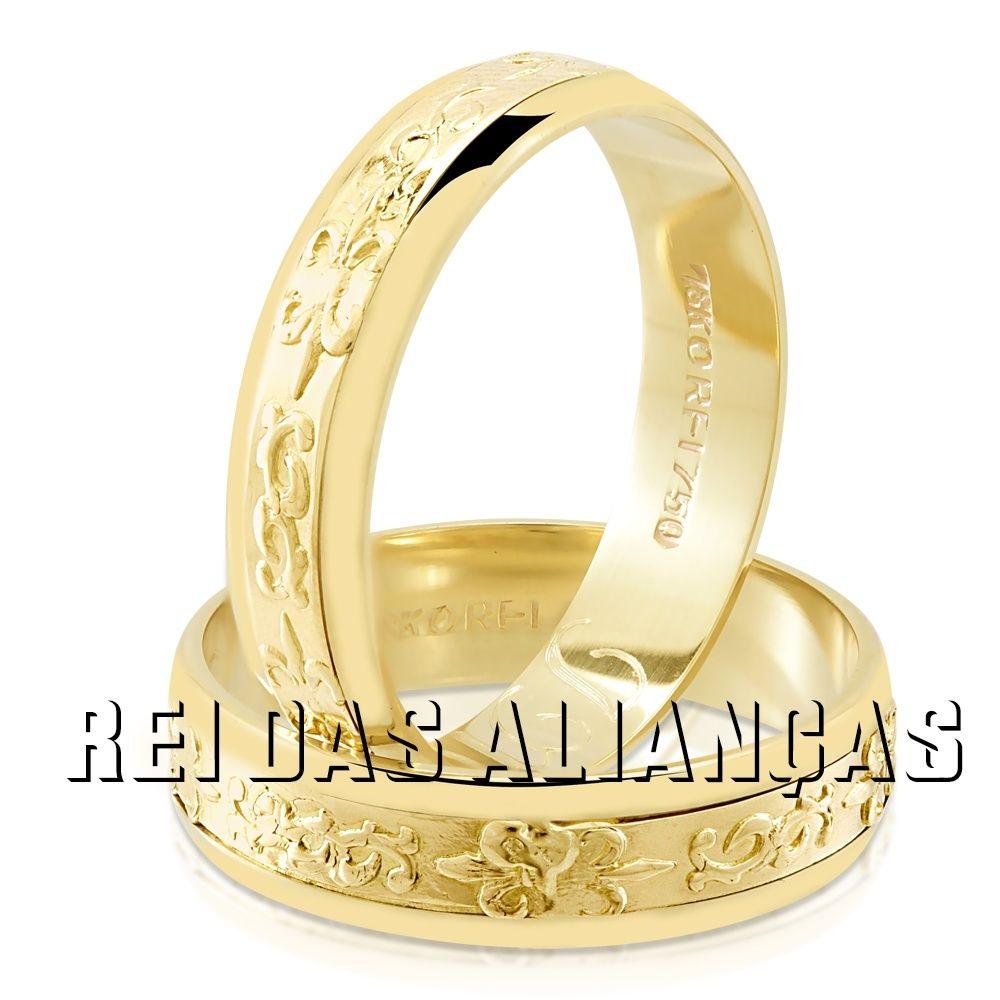 imagem do produto Alianças de Bodas de Ouro Cód.083