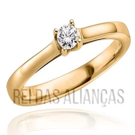 imagem do produto Anel para Noivado ou Casamento Luxo Cód. 601