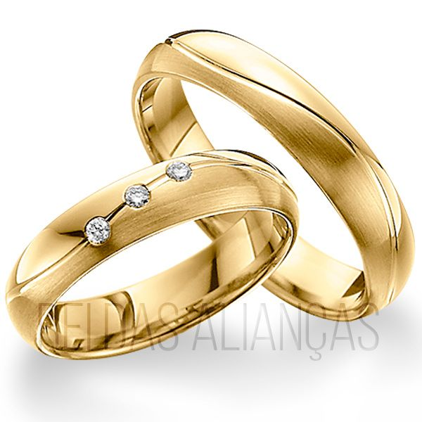imagem do produto Alianças de Noivado ou Casamento Cód. 465