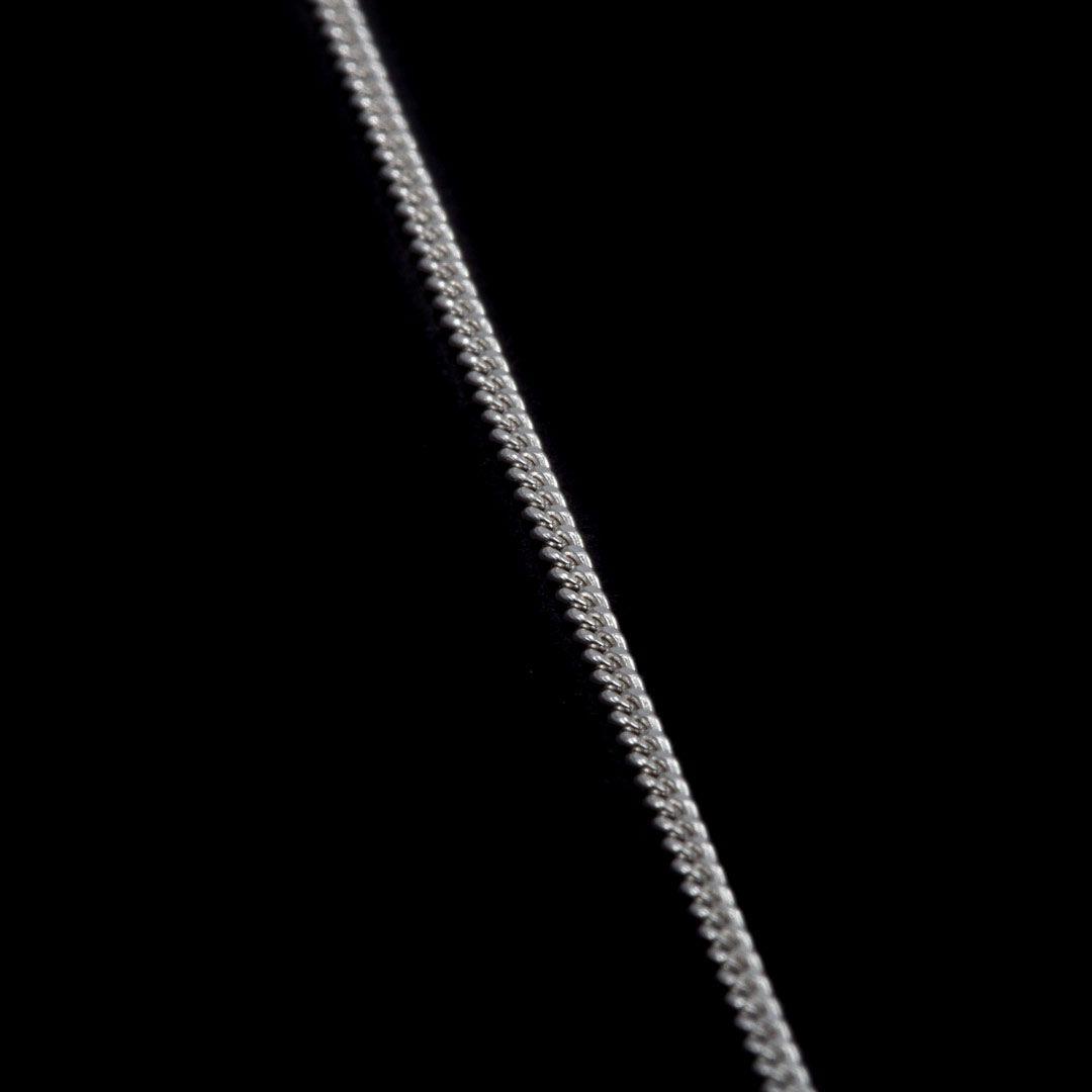 imagem do produto Corrente Groumett Fina em Prata Italiana