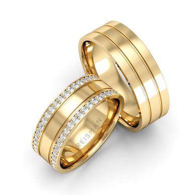 Alianças de Casamento This Love Ouro 18K