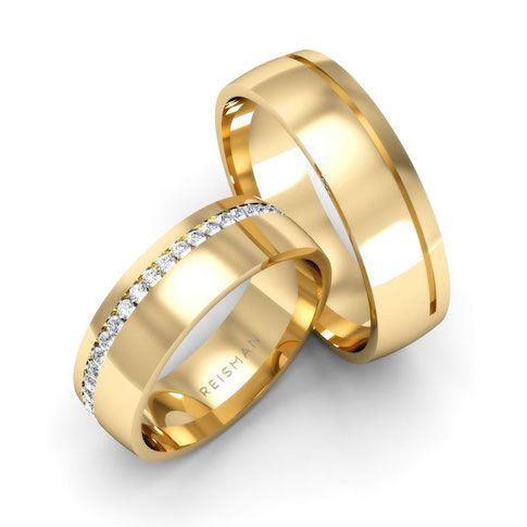 Alianças de Casamento Vila Olímpia Ouro 18K