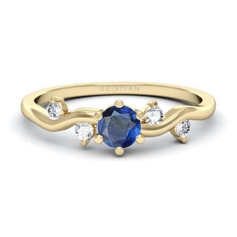 anel de noivado safira anel de formatura administração