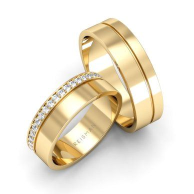 Aliança de Casamento Suíça Ouro 18K