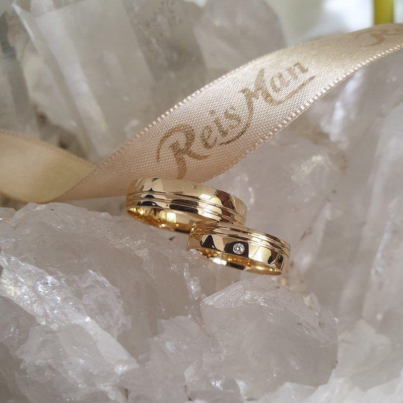 Alianças de Casamento Sorocaba Ouro 18K