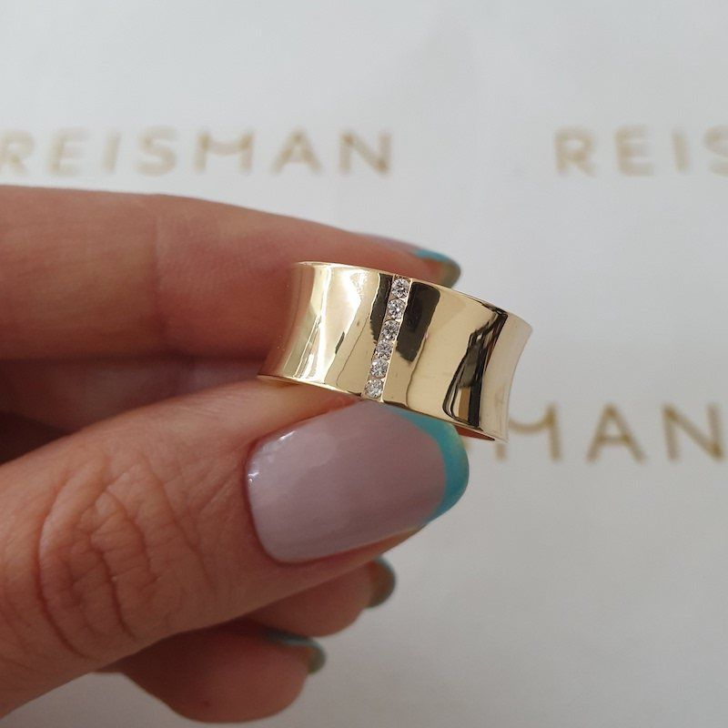 Alianças de Casamento Sena Ouro 18K