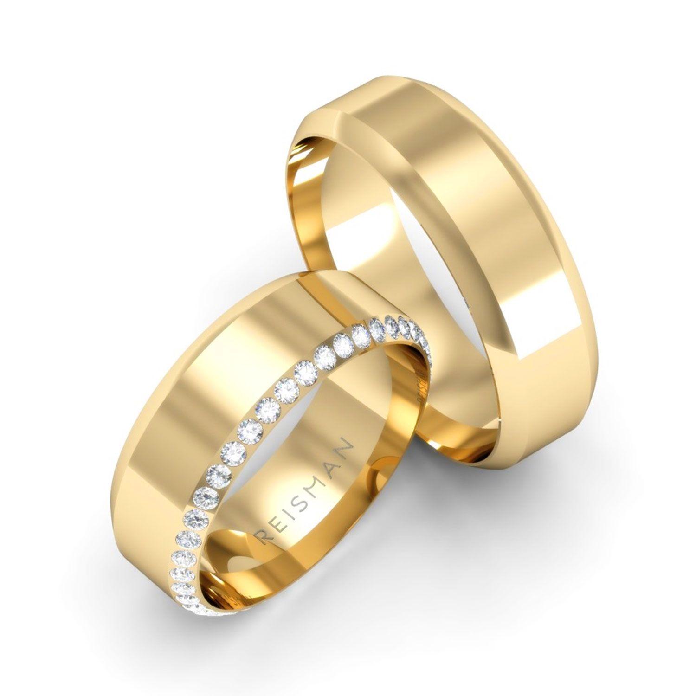 Alianças de Casamento Esplendor Ouro 18K