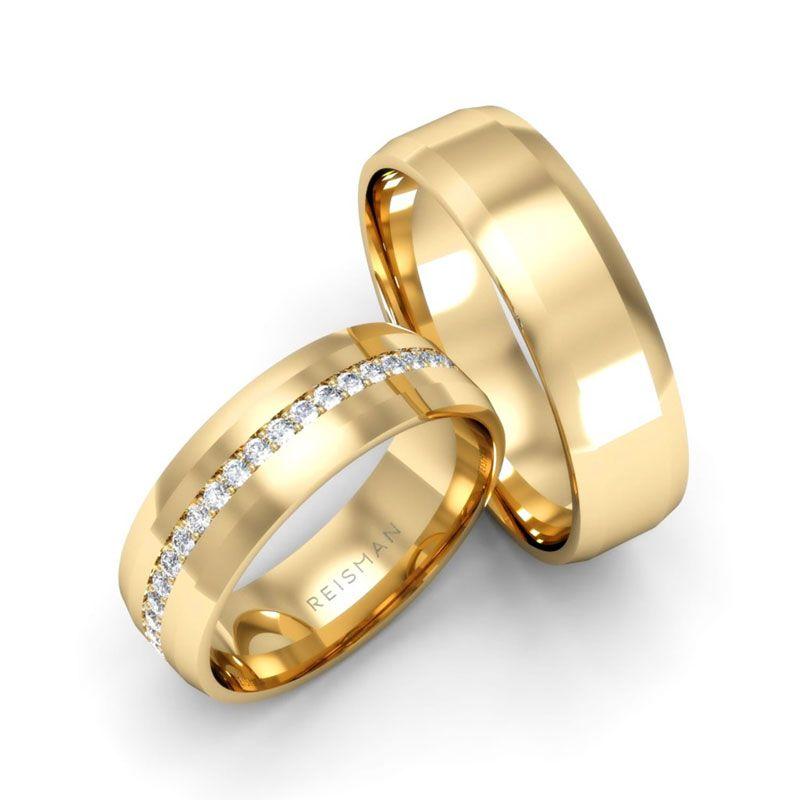Alianças de Casamento Ouro 18K Atlânta
