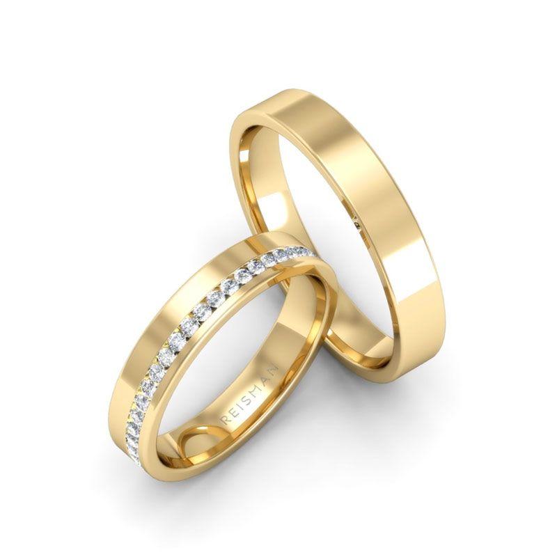 Alianças de Casamento Forever Ouro 18K