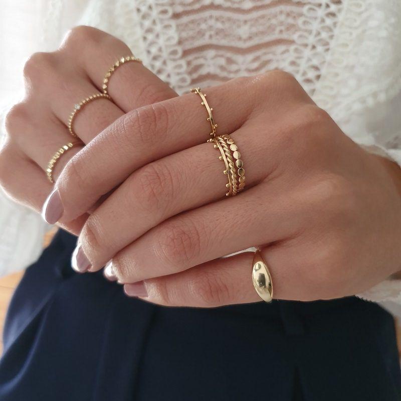 Aparador de Aliança Torcidinho em ouro