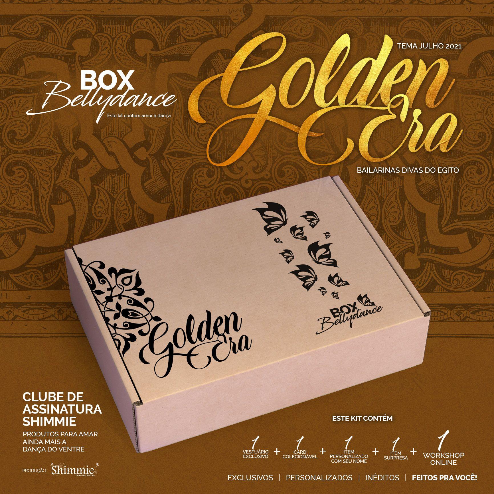Caixa Golden Era . Avulsa