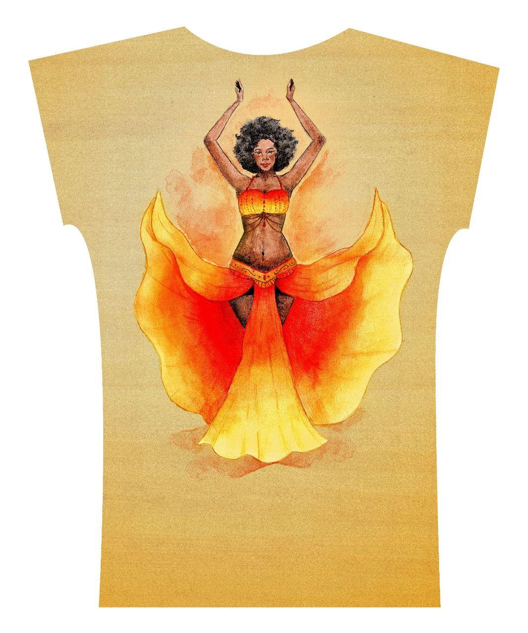 Camiseta . Bellyblack