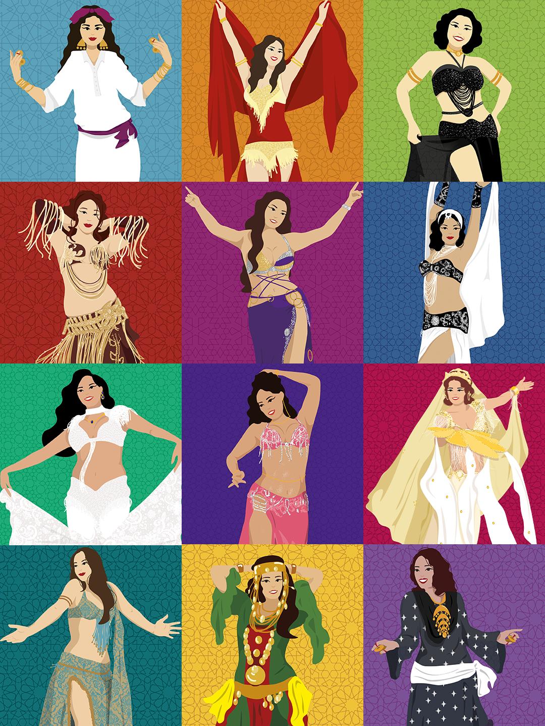 Coleção Cards Bailarinas Inspiradoras