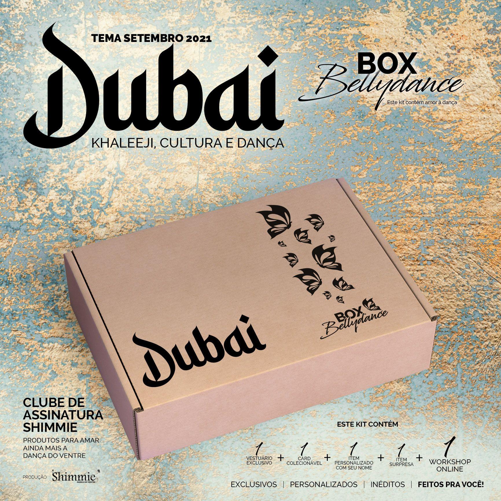 Caixa Dubai . Avulsa